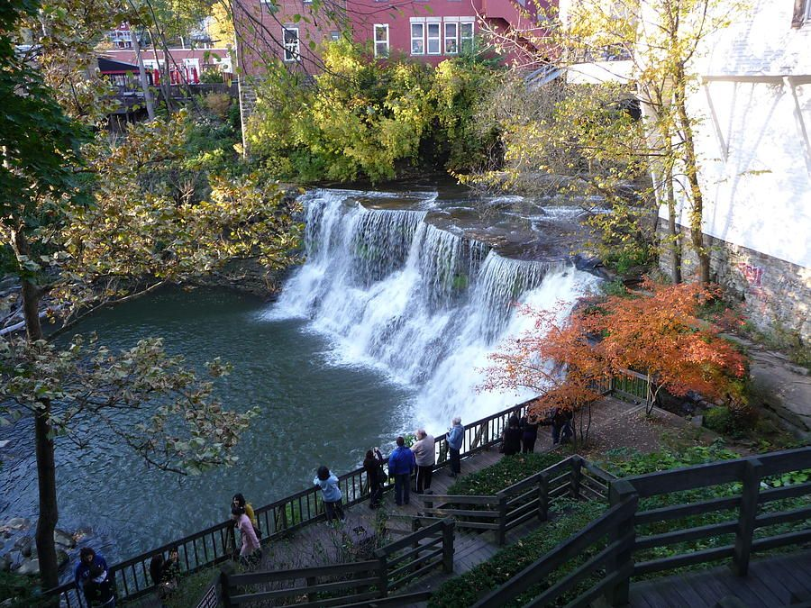 Chagrin falls waterfalls