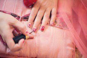 Getting rid of nail polish in carpet