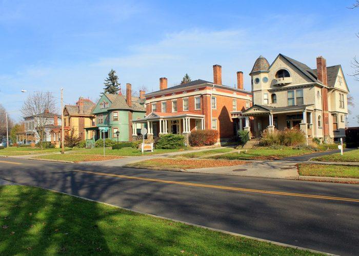 Millionare's Row in Warren, OH
